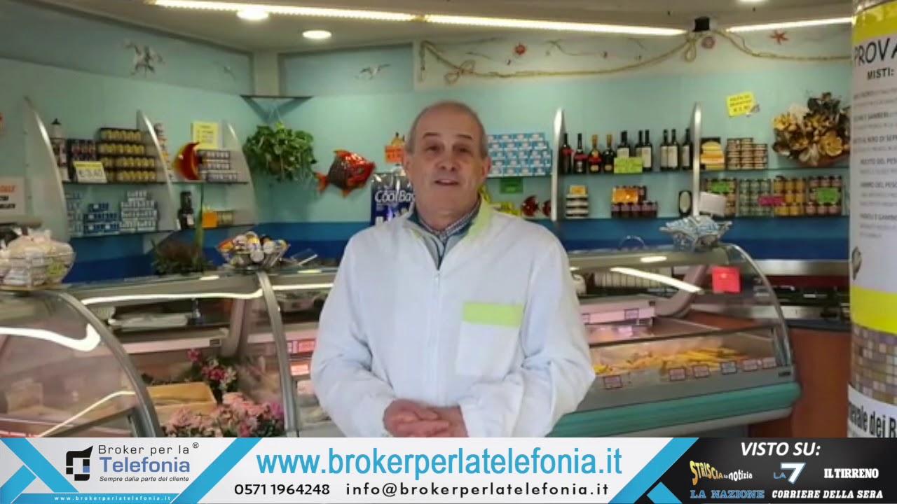 Pescheria GenePaoloPesca di San Miniato - 280 euro cancellati contro Tim (BQ)