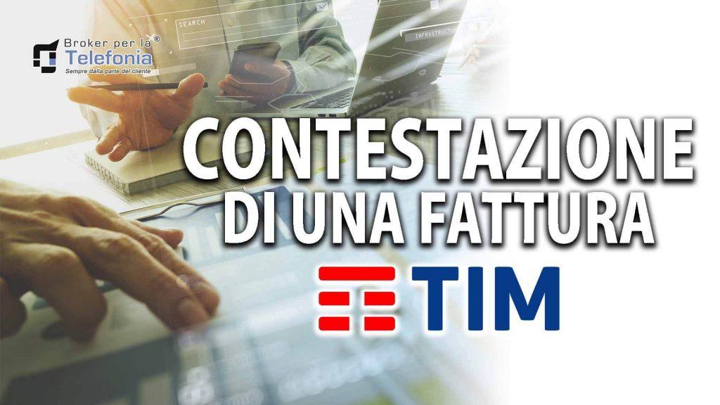 Contestazione di una Fattura di Tim Telecom - La Procedura Corretta