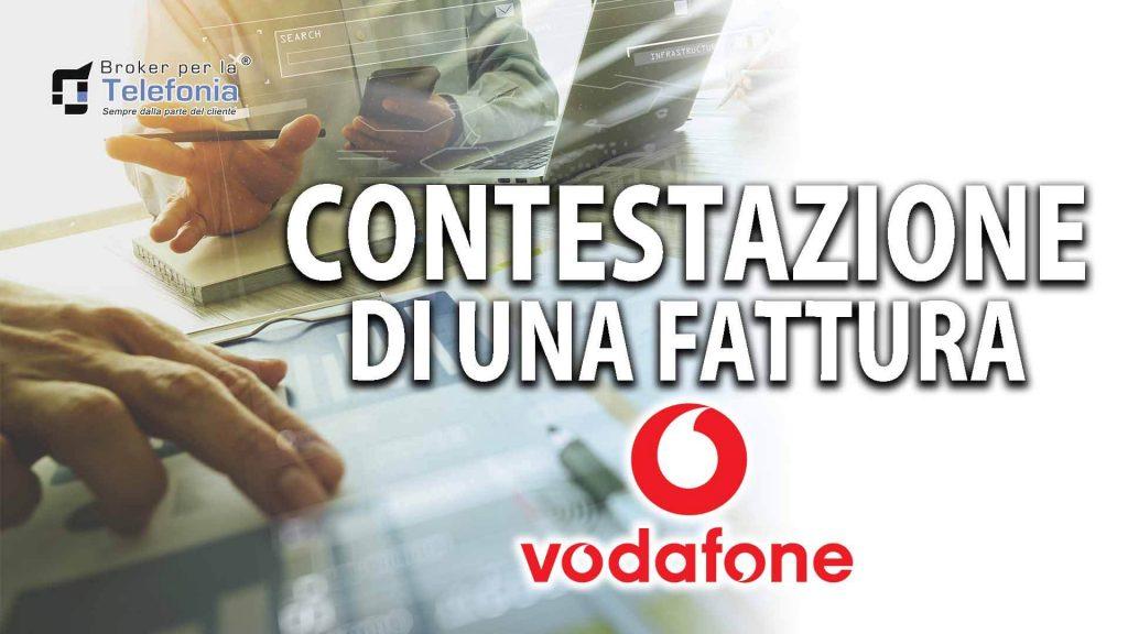 Contestazione Fattura Vodafone - La Procedura Corretta
