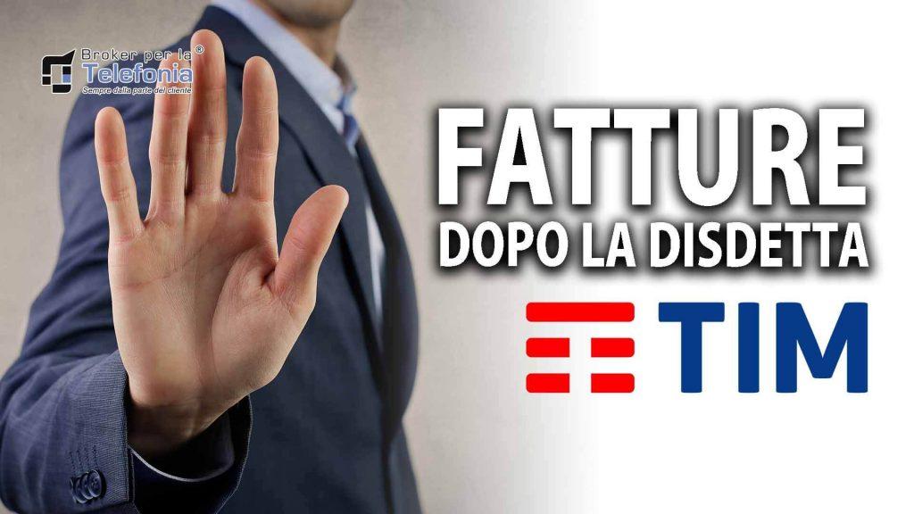 Ricevi Fatture da Tim - Telecom dopo la disdetta?