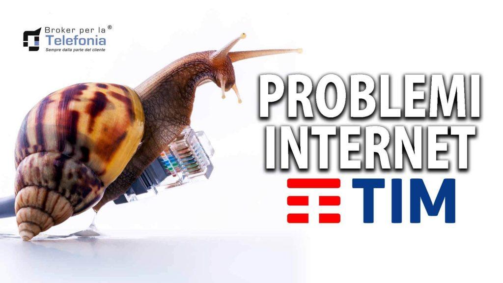 Problema Internet Tim Telecom