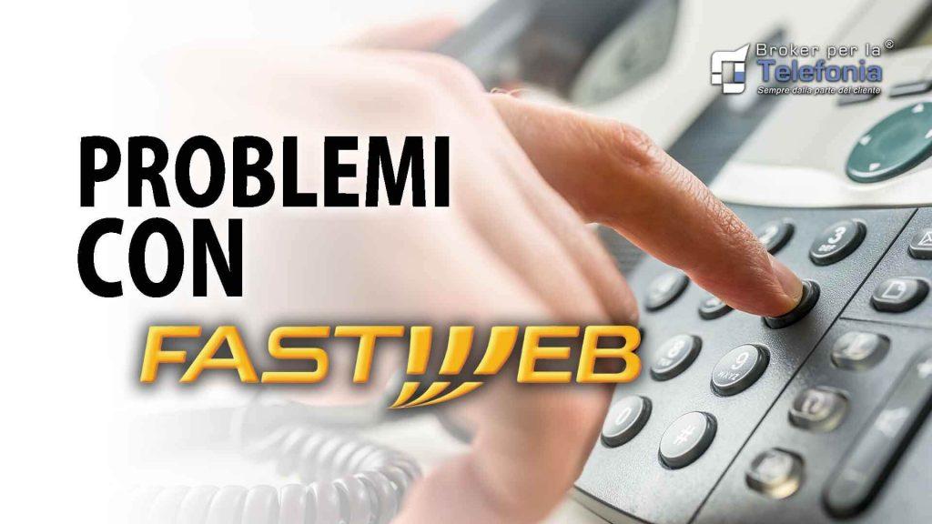 Problemi con Fastweb